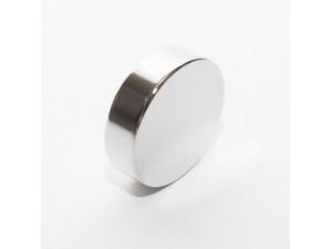 Неодимовый магнит большой диск (шайба) 35х10мм