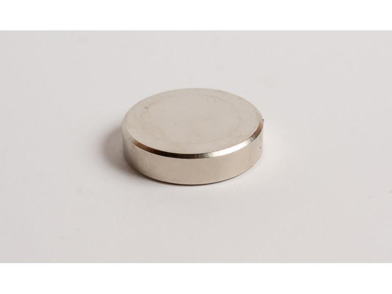 Неодимовый магнит большой диск (шайба) 40х10мм