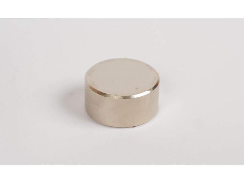 Неодимовий магніт великий диск (шайба) 40х20мм