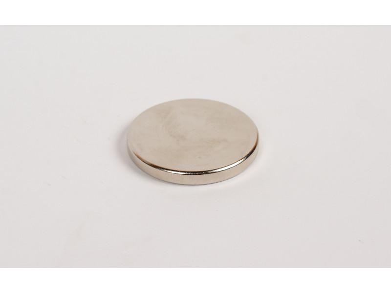 Неодимовий магніт великий диск (шайба) 40х5мм