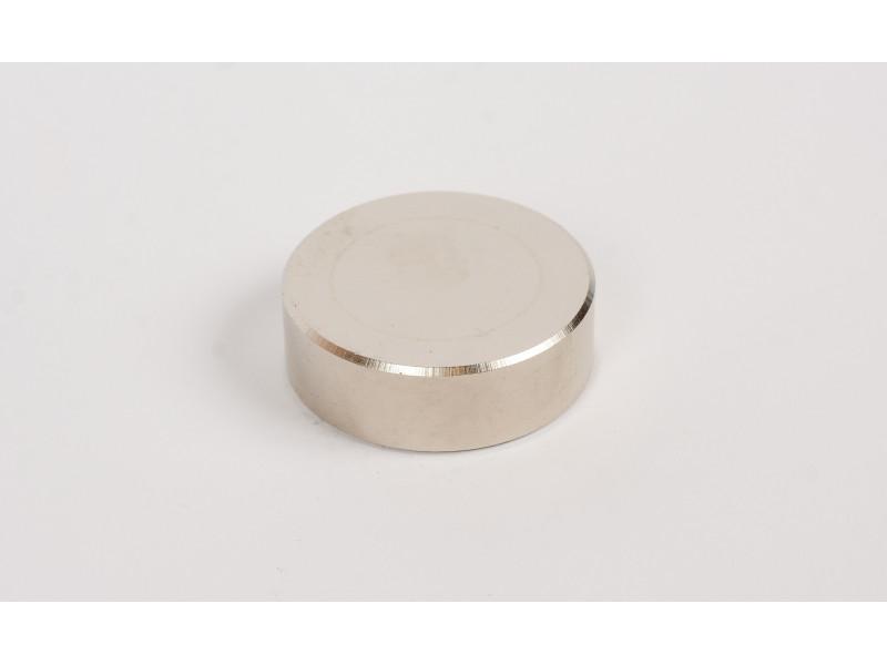 Неодимовый магнит большой диск (шайба) 45х15мм