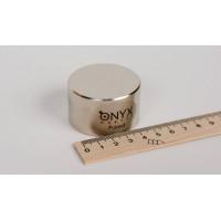 Неодимовый магнит большой диск (шайба) 50х30 мм