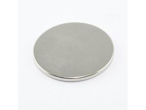 Неодимовый магнит малый диск (шайба) 30х2мм
