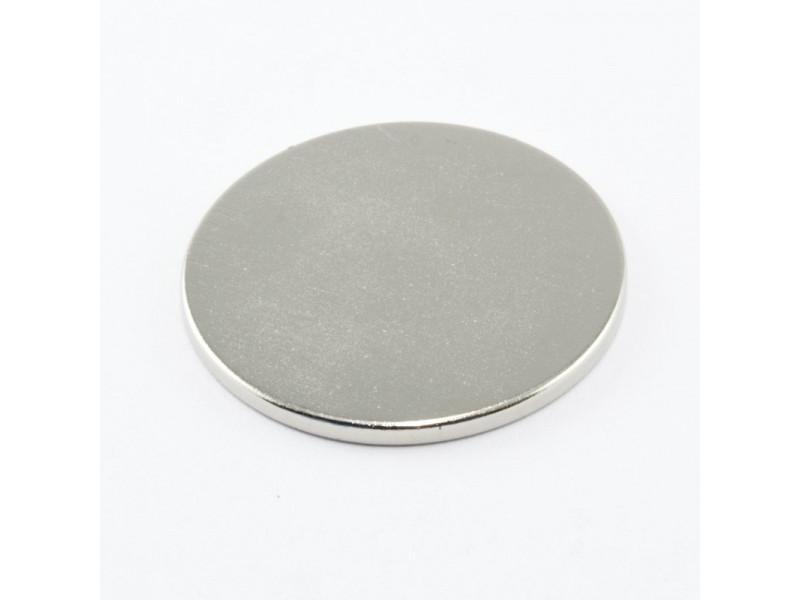 Неодимовий магніт малий диск (шайба) 30х2мм