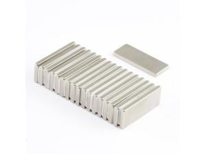 Неодимовий магніт прямокутник 25х10х2мм
