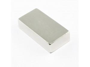 Неодимовий магніт прямокутник 40х20х10мм