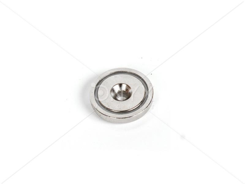 Неодимовое магнитное крепление c зенковкой A25