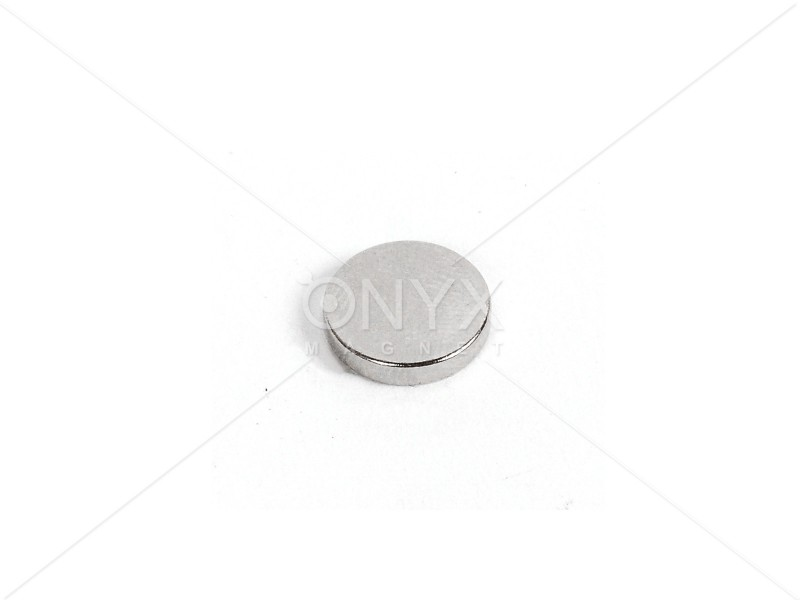 Неодимовый магнит малый диск (шайба) 10x1.5мм
