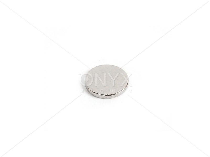 Неодимовий магніт малий диск (шайба) 10х1мм