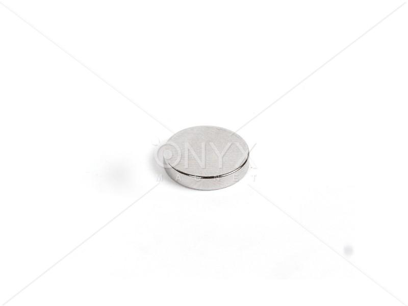 Неодимовый магнит малый диск (шайба) 10х3мм