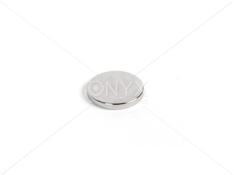Неодимовий магніт малий диск (шайба) 12х2мм