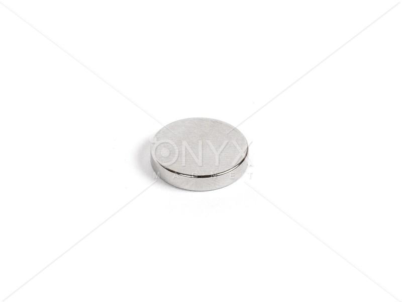Неодимовий магніт малий диск (шайба) 12х3мм