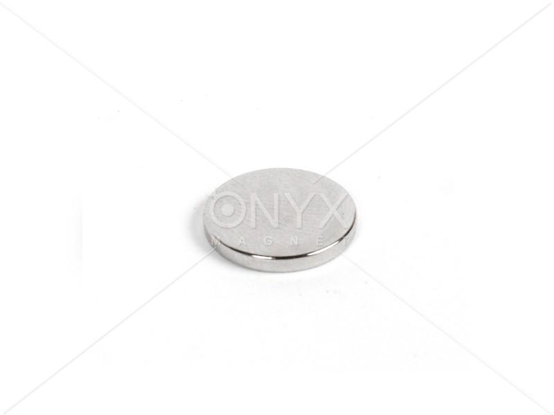 Неодимовый магнит малый диск (шайба) 14х2мм