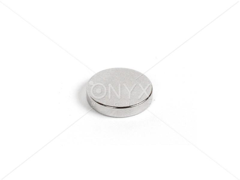 Неодимовый магнит малый диск (шайба) 14х3мм