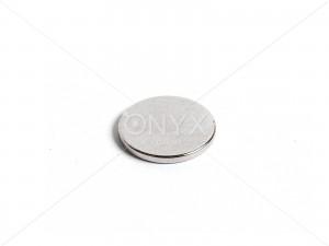 Неодимовый магнит малый диск (шайба) 15x1.5мм