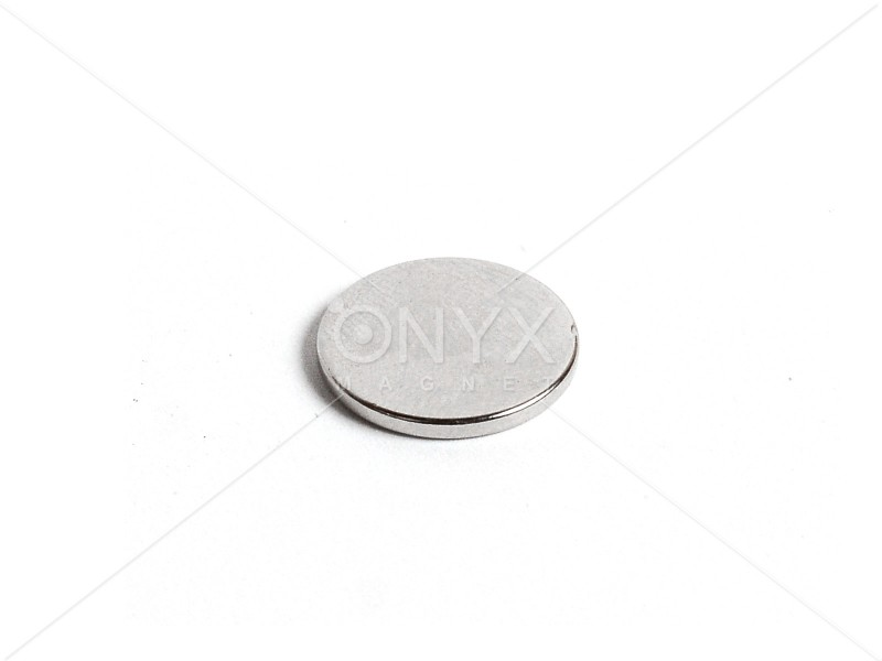 Неодимовий магніт малий диск (шайба) 15х1.5мм