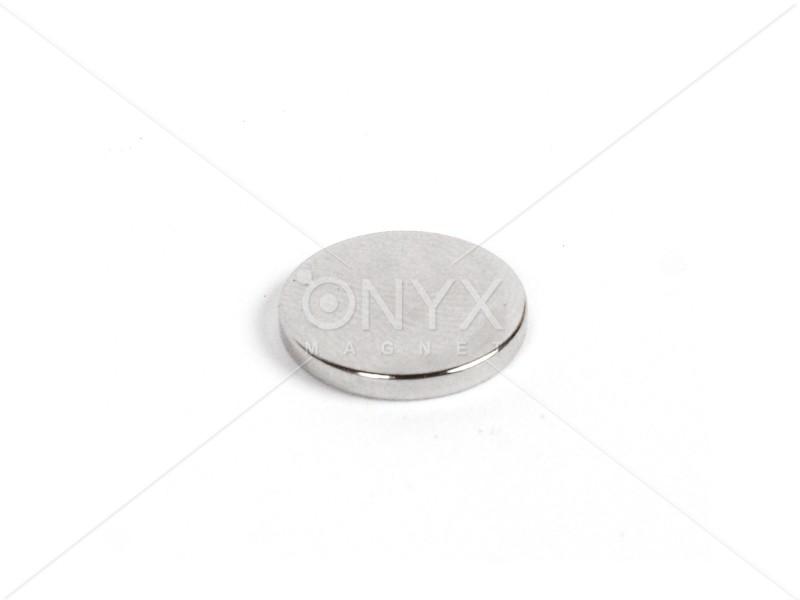 Неодимовий магніт малий диск (шайба) 15х2мм