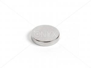 Неодимовый магнит малый диск (шайба) 15х3мм