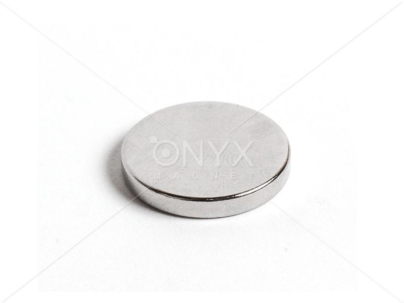 Неодимовий магніт малий диск (шайба) 20х3мм