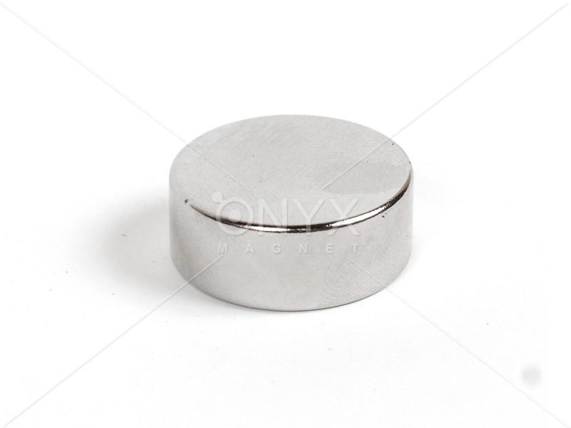 Неодимовый магнит малый диск (шайба) 20x7мм
