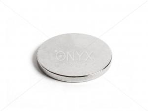 Неодимовый магнит малый диск (шайба) 25х3мм