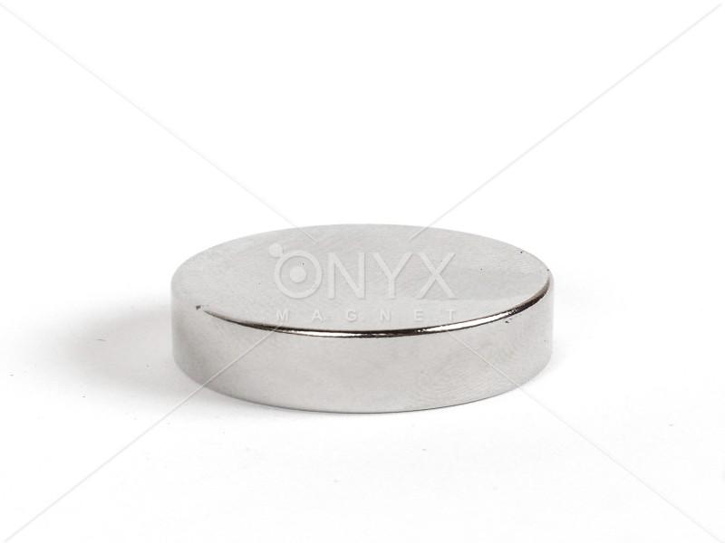 Неодимовый магнит малый диск (шайба) 25х5мм