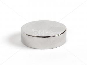 Неодимовый магнит малый диск (шайба) 25х8мм