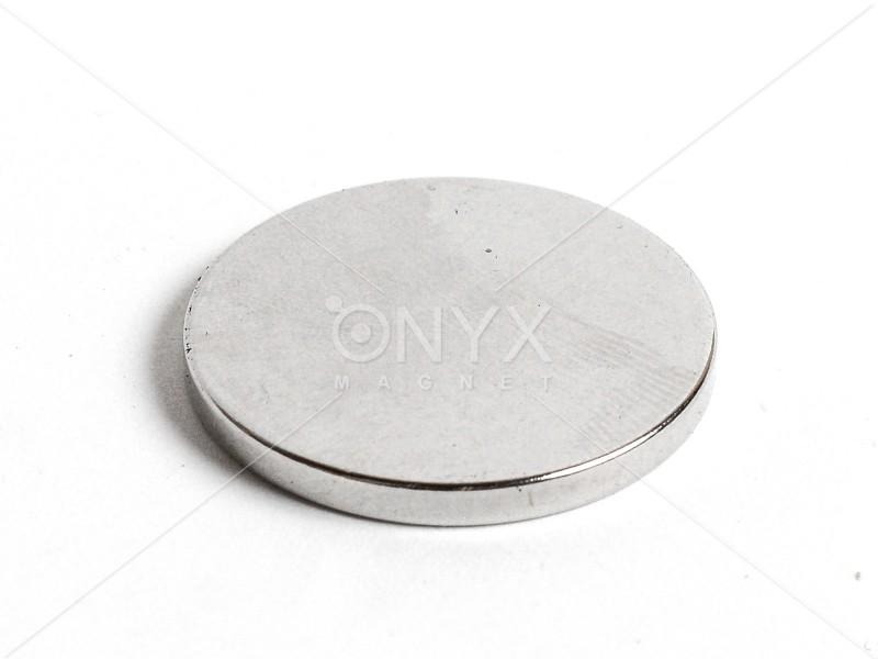 Неодимовый магнит малый диск (шайба) 30х3мм