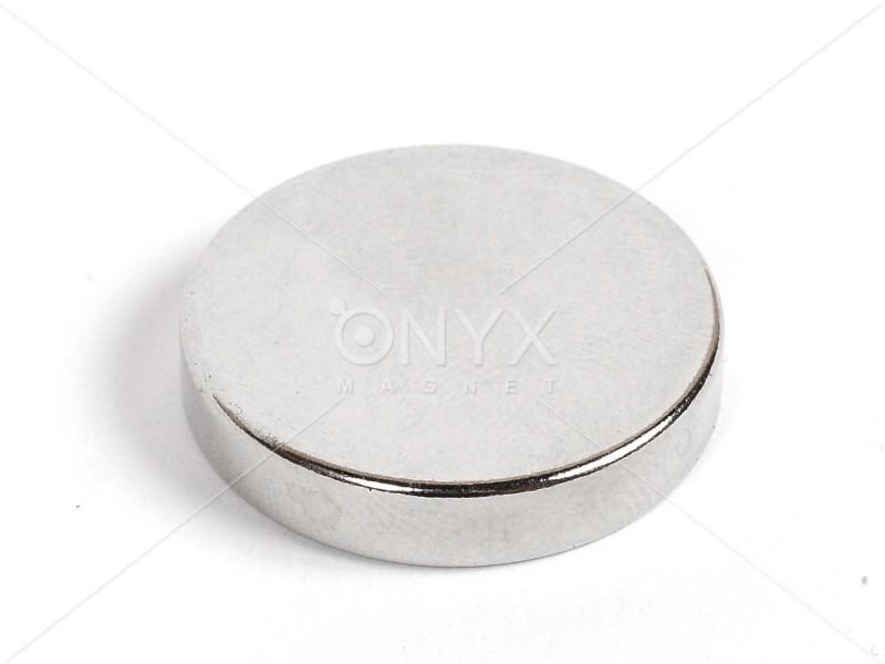 Неодимовый магнит малый диск (шайба) 30х5мм