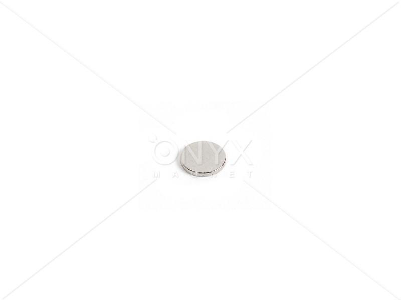 Неодимовый магнит малый диск (шайба) 4х1мм