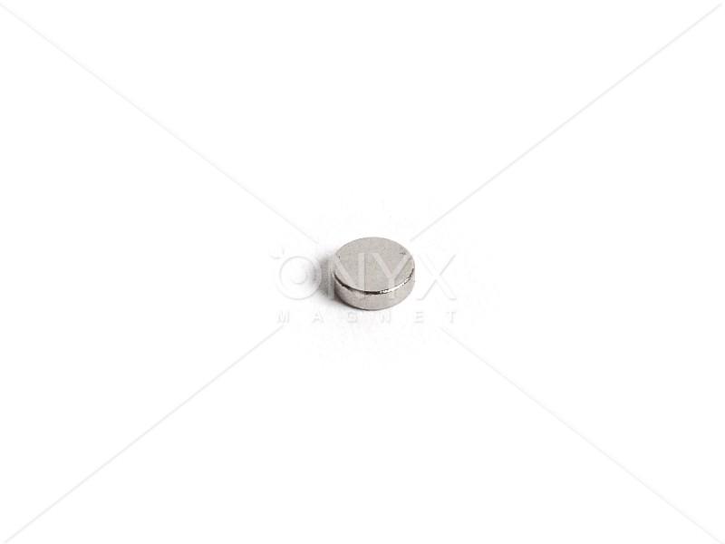 Неодимовий магніт малий диск (шайба) 4х2мм