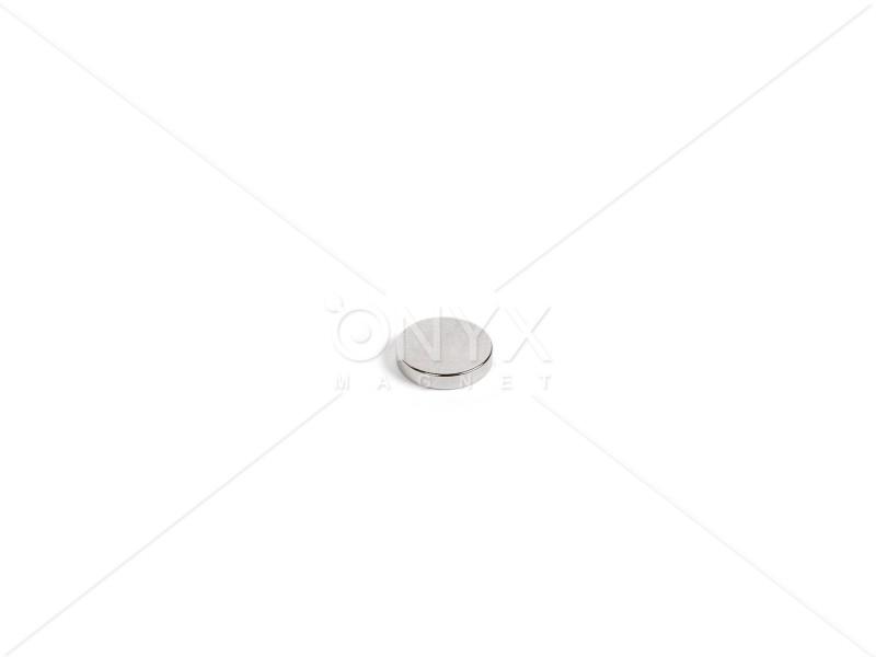 Неодимовый магнит малый диск (шайба) 5х3мм