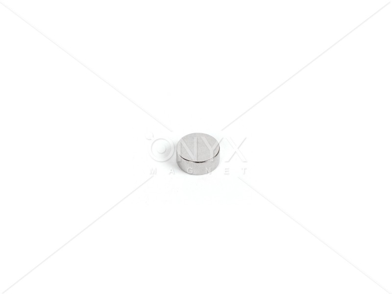 Неодимовый магнит малый диск (шайба) 5х5мм