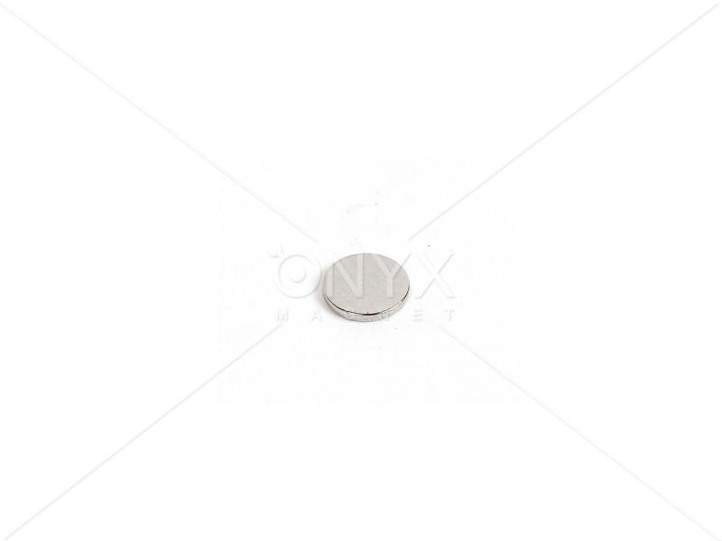 Неодимовый магнит малый диск (шайба) 6х1.5мм