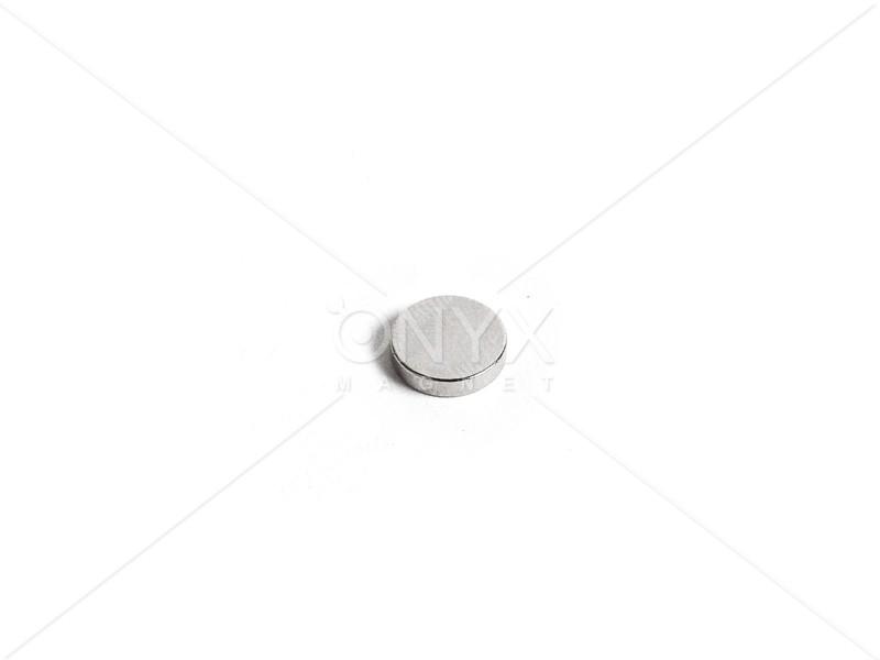 Неодимовый магнит малый диск (шайба) 7х2мм