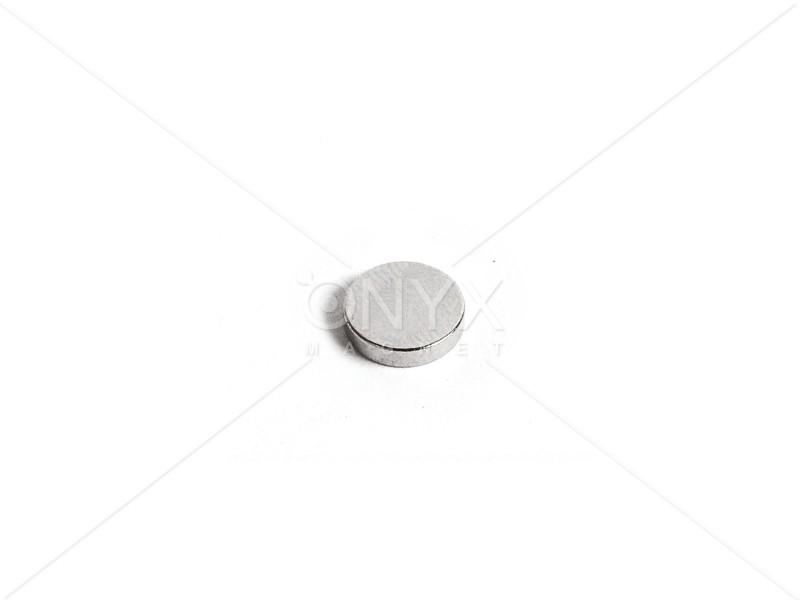 Неодимовый магнит малый диск (шайба) 8х2мм