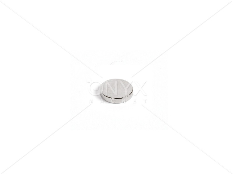 Неодимовый магнит малый диск (шайба) 8х3мм
