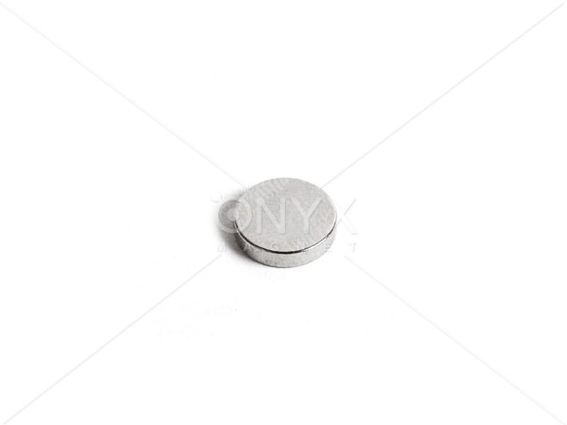 Неодимовий магніт малий диск (шайба) 9х2мм