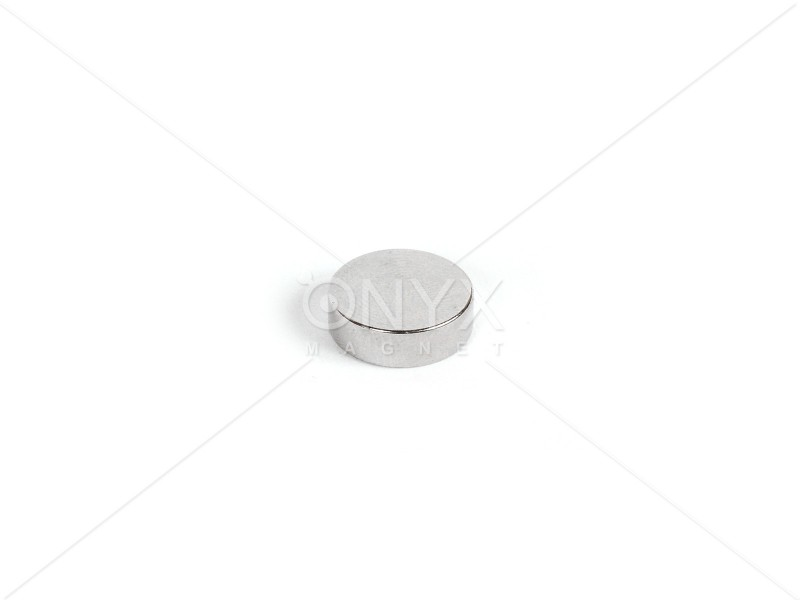 Неодимовый магнит малый диск (шайба) 9х4мм