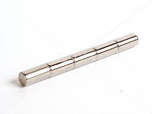 Неодимовий магніт пруток (циліндр) 10х20мм