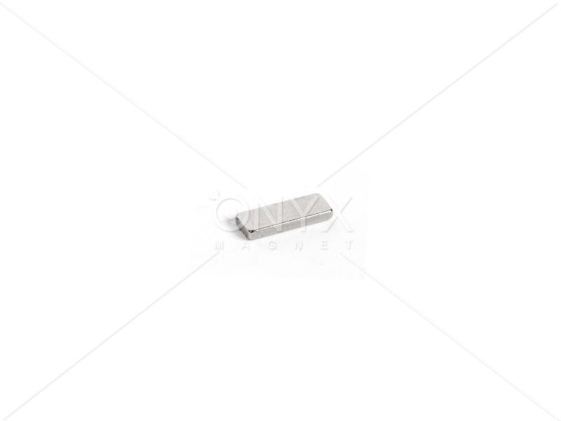 Неодимовый магнит прямоугольник 15х5х2мм