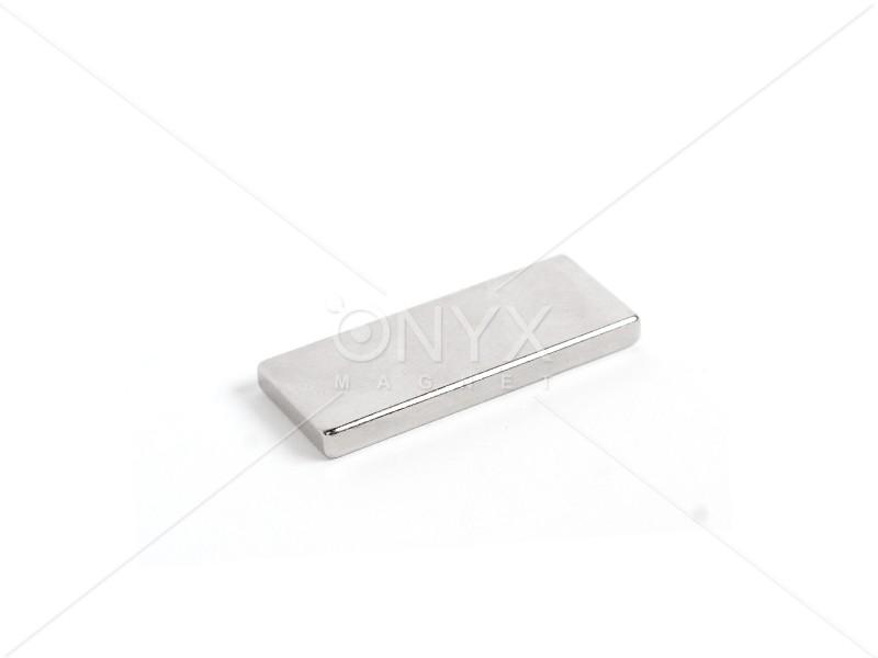 Неодимовый магнит прямоугольник 50х20х5мм