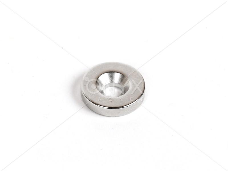 Неодимовый магнит кольцо 15x3мм с зенковкой 4.5/7.5мм