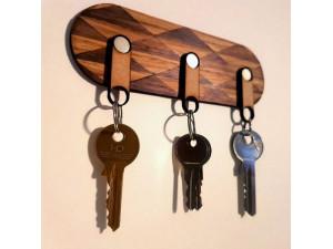 Неодимовые магниты в держателях для ключей