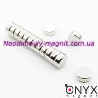 Неодимовый магнит малый диск (шайба) 12х5мм