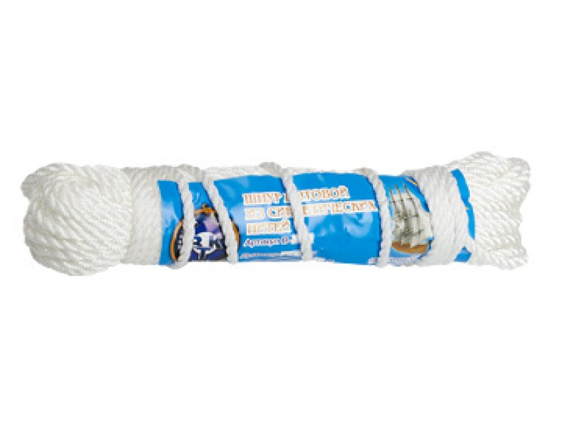 Мотузка господарська кручена В-22 (5 мм 10 м)