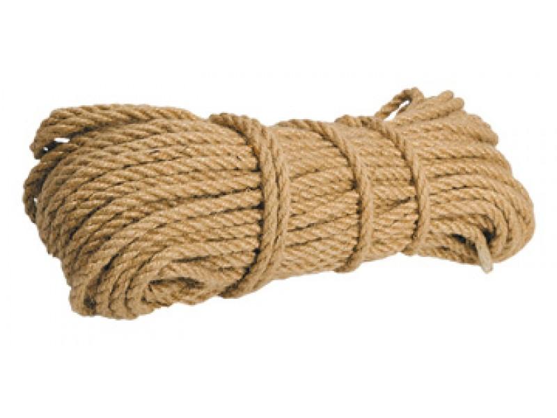 Канат джутовый (14мм.50м.)