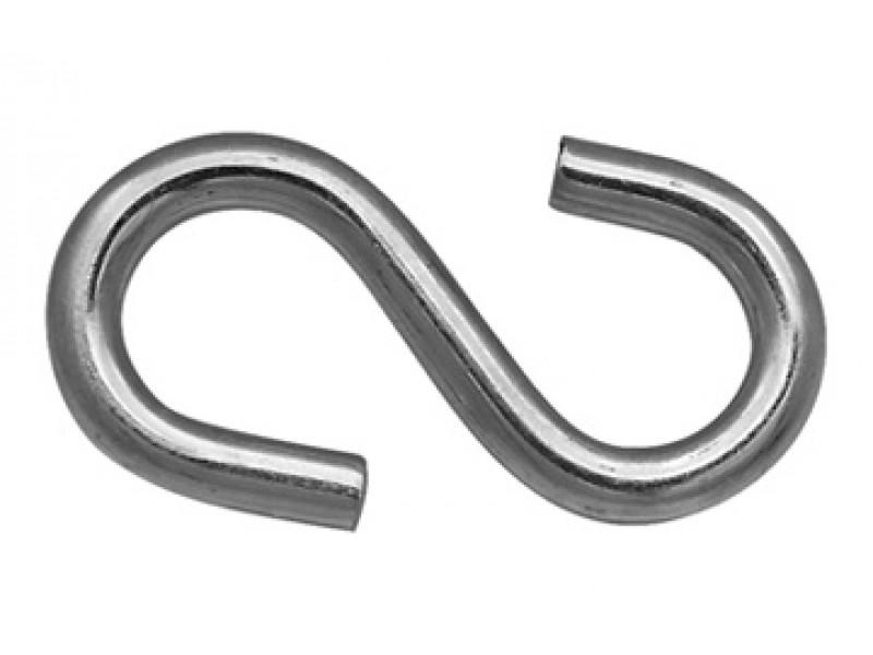 Крючок S-образный 8мм